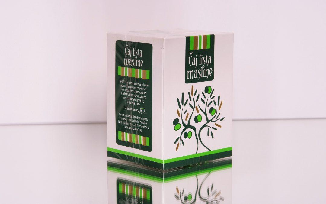 Čaj od maslinova lista